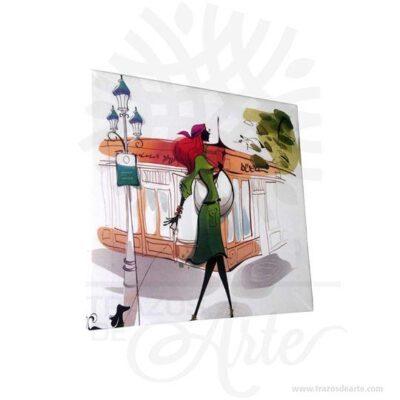 Cuadros impresos en el lienzo no tejido son una excelente alternativa a los cuadros tradicionales pintados a mano. La impresión digital de alta calidad hace que los detalles de la imagen se reproducen con precisión. El bastidor es la construcción en que están estirado el lienzo. Bastidor con un espesor de 1,2 cm. Es un espesor óptimo que permite ajustar fácilmente el cuadro al marco. En caso de elegir un cuadro compuesto por varias piezas, posicione los elementos del cuadro en la pared dejando un espacio de unos 2-3 cm entre ellos para que todas las partes se unan correctamente. Tenga en cuenta que los accesorios no vienen incluidos. Todos nuestros productos son de la marca Trazos de Arte. Realice un pedido personalizado y reciba algo hecho exclusivamente para usted, podemos agregar lo que desee, como nombre, fecha, frase, logo, imagen y empaque regalo. Ofrecemos Grabado por láser, Grabado CNC Router, Sublimado o en papel adhesivo el precio varía según el tipo de personalización que desee, encontrara más información en Servicios en nuestro menú principal. Si tiene dudas presione Cotizar personalización y pregúntenos, también puede escribirnos en Contacto en nuestro menú principal, por e-mail a contacto@trazosdearte.com o comuníquese con nosotros al teléfono 057-4 75 78 94 - móvil 320 2422794 por favor siempre relacione el SKU del producto, para nosotros siempre será un placer atender su solicitud. Cuadro en Lienzo Tamaño 30x30 cm Color: Descripción en foto Impresión en calidad fotográfica. Vendido y enviado por: Trazos de Arte. Cuadro en lienzo en bastidor 12mm de grosor. Envió rápido y seguro.