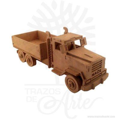 Hermosos Camión Mack en MDF, se puede entregar armado o como Rompecabezas 3D, según especificación del cliente,útil como juguete o decoración. Si se le daña alguna pieza en el futuro, le enviaremos la sección dañada previo pago de la misma. Este es un maravilloso regalo, suvenir; empresarial o para amigos y familiares. Si usted está buscando un regalo de valor duradero, estos juguetes de madera son una excelente elección. Utilizamos mdf (madera del futuro) de alta calidad y acabados de calidad superior. Habilidades que son estimuladas por un Puzzle: Desarrolla y potencializa la motricidad fina: Jugar con un puzzle puede potenciar las habilidades de motricidad fina del niño, ya que éste tiene que agacharse a recoger e intentar colocar las piezas en el lugar exacto. Habilidades cognitivas: Los puzzles que tienen formas y colores, por ejemplo, letras, números o animales, estimulan las habilidades cognitivas; los niños comienzan a tener conciencia de las formas, de esta manera su cerebro desarrollará más rápido los conceptos que se encuentran entre las formas y de sus puzzle. Lógica matemática: Aunque nos parezcan demasiados pequeños para comprender estos conceptos tan complejos, lo cierto es que jugar con puzzle le ayudará a tu niño a planear y ser estratega, dos aspectos que se requieren para lograr que las piezas del puzzle encajen en el lugar indicado. Autoestima y manejo de la frustración: Es importante trabajar con estos dos aspectos de la vida de nuestros hijos, ya que los acompañaran durante toda su vida. Un niño que juega con un puzzle aprende a manejar la frustración de manera sana, es decir no explotará al no poder encajar las piezas, sino que buscará la manera de lograr sus objetivos. Por otro lado, al lograr armar su puzzle por sí mismo se reforzará su autoestima al saber que puede lograr lo que se propone. Habilidades sociales: No hay porque armar un puzzle solo, tu pequeño puede compartir esta actividad con sus primos o hermanos, de esta manera aprenderá 