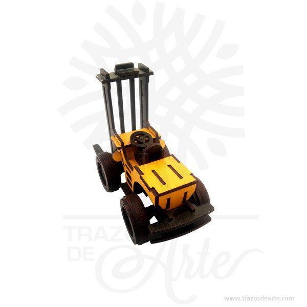 Hermosa carretilla elevadora en MDF de 3 mm, con partes móviles, la carretilla elevadora puede levantar la tarima y moverse alrededor. Cortada en láser. Unacarretilla elevadora,grúa horquilla,montacargaso,coloquialmente,toroes unvehículocontrapesado en su parte trasera, que mediante dos horquillas se utiliza para subir y bajarpalés. El primer prototipo de montacargas fue creado porWatermanen 1851. Se trataba de una plataforma unida a un cable. Este modelo inspiró aOtisa inventar elascensor, un elevador con un sistema dentado, que permitía amortiguar la caída del mismo en caso de que se cortara su cable. Carretilla elevadora Tamaño 20 × 14 × 8 cm. Color: Descripción en foto. Vendido y enviado por: Trazos de Arte. Envió rápido y seguro. Personalización Realice un pedido personalizado, podemos agregar lo que desee, como nombre, fecha, frase, logotipo, imagen o empaque regalo. Ofrecemos: Grabado por láser, grabado CNC Router, sublimado o papel adhesivo, el precio varía según el tipo de personalización que desee, encontrara más información enServiciosen nuestro menú secundario. Si desea cotizar o tiene preguntas presione el botónCotizar personalizacióncon gusto las responderemos.