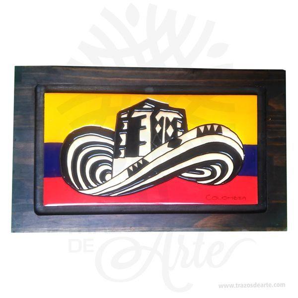 Hermoso cuadro sombrero volteado artesanal en madera son una excelente alternativa a los cuadros tradicionales, pintado a mano. Es un elemento decorativo perfecto para hogar o la empresa. Este es un maravilloso regalo empresarial o para amigos y familiares. Una pintura es elsoporte pintadosobre un muro, un lienzo, lámina o madera. La palabrapinturase aplica también alcolorpreparado para pintar, asociado o no a una técnica de pintura; en este sentido es empleado en la clasificación de la pintura atendiendo a las técnicas de pintar, por ejemplo: «pintura al fresco» o «pintura al óleo». La clasificación de la pintura puede atender a criterios temáticos (como la «pintura histórica» o la «pintura de género») o a criterios históricos basados en los periodos de laHistoria del Arte(como la «pintura prehistórica», la «pintura gótica») y en general de cualquier período de lahistoria de la pintura.  Cuadro sombrero volteado Tamaño 37 × 23 × 1,8 cm. Color: Descripción en foto. Pintado a mano. Vendido y enviado por: Trazos de Arte. Envió rápido y seguro. Personalización Realice un pedido personalizado, podemos agregar lo que desee, como nombre, fecha, frase, logotipo, imagen o empaque regalo. Ofrecemos: Grabado por láser, grabado CNC Router, sublimado o papel adhesivo, el precio varía según el tipo de personalización que desee, encontrara más información enServiciosen nuestro menú secundario. Si desea cotizar o tiene preguntas presione el botónCotizar personalizacióncon gusto las responderemos.