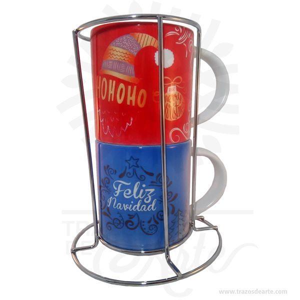 Hermoso juego de Mug apilable x 2 Navidad sublimado, conbase en aluminio. El detalle es realmente bello, excelente y original regalo hecho en sublimación. Disponibilidad de color interno según stock de inventario. Regalo perfecto para decorara tu hogar, oficina o simplemente porque pensé en ti en esta navidad. Un Muges un tipo detazatípicamente usada para beber bebidas calientes, tales comocafé,chocolate caliente,sopaoté. Tazas suelen tener manijasy mantener una mayor cantidad delíquidoque otros tipos de taza. Por lo general, una taza contiene aproximadamente 11onzas líquidas(350 ml) de líquido. Una taza es un estilo menos formal del envase de la bebida y no se utiliza generalmente enajustesformales, donde unataza de téounataza decafé se prefiere. Las tazas antiguas eran generalmente talladas en madera o hueso, o en forma de arcilla, mientras que la mayoría de los modernos están hechos dematerialescerámicoscomoporcelana,loza,porcelanaogres. Las técnicas como la sublimaciónoadhesivosse utilizan para aplicar decoraciones como logotipos o imágenes, que se disparan sobre la taza para asegurar la permanencia. Mug apilable x 2 Navidad Material: Cerámica Tamaño: Alto: 17,5 cm x Diámetro: 13 cm Tamaño unidad: Alto: 8,7cm X Diámetro: 7,8cm Capacidad: 6oz Color: Blanco Vendido y enviado por: Trazos de Arte. Envió rápido y seguro. Personalización Realice un pedido personalizado, podemos agregar lo que desee, como nombre, fecha, frase, logotipo, imagen o empaque regalo. Ofrecemos: Grabado por láser, grabado CNC Router, sublimado o papel adhesivo, el precio varía según el tipo de personalización que desee, encontrara más información en Servicios en nuestro menú secundario. Si desea cotizar o tiene preguntas presione el botón Cotizar personalización con gusto las responderemos.