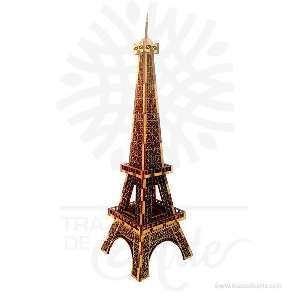 Hermosa y decorativa Torre Eiffel estatuilla en MDF de 3 mm de alta calidad. Este es un maravilloso regalo, suvenir; empresarial o para amigos y familiares. Disfrutar de una réplica finamente detallada del famoso monumento de París, La Torre Eiffel es una torre de celosía de hierro situada en el Champ de Mars en París. Fue nombrado después del ingeniero Gustave Eiffel, cuya empresa diseñó y construyó la torre. El diseño de la Torre Eiffel se originó por dos ingenieros que trabajaban para Eiffel, después de la discusión acerca de un centro de mesa adecuado para la propuesta 1889 Feria Mundial que se celebra el centenario de la revolución francesa. Desde entonces se ha convertido en un icono cultural mundial de Francia y una de las estructuras más reconocibles del mundo. La torre sigue siendo la estructura más alta de París (324 1.063 pies o metros) y el monumento más visitado del mundo. Torre Eiffel estatuilla Material: MDF de 3 mm de alta calidad Color: Descripción en foto Tamaño 30 x 8,5 x 8.5 cm Vendido y enviado por: Trazos de Arte. Personalización Realice un pedido personalizado, podemos agregar lo que desee, como nombre, fecha, frase, logotipo, imagen o empaque regalo. Ofrecemos: Grabado por láser, grabado CNC Router, sublimado o papel adhesivo, el precio varía según el tipo de personalización que desee, encontrara más información enServiciosen nuestro menú secundario. Si desea cotizar o tiene preguntas presione el botónCotizar personalizacióncon gusto las responderemos.
