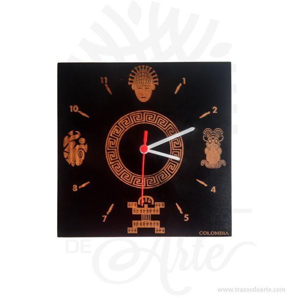 Reloj Colombia Raíces es un regalo, muy especial. Perfecto para decorar, ideal para cumpleaños, navidad o simplemente porque pensé en ti. Tenga en cuenta que los colores pueden variar, por lo que cuando lo reciba será similar, no exactamente al de la foto. Se denominarelojalinstrumentocapaz de medir eltiemponatural (días,años,fases lunares, etc.) enunidades convencionales(horas,minutososegundos). Fundamentalmente permite conocer lahoraactual, aunque puede tener otras funciones, como medir la duración de un suceso o activar una señal en cierta hora específica. Los relojes se utilizan desde la antigüedad y a medida que ha ido evolucionando la tecnología de su fabricación han ido apareciendo nuevos modelos con mayor precisión, mejores prestaciones y presentación y menor coste de fabricación. Reloj Colombia Raíces Medidas: 30 x 30 cm Material: MDF de alta calidad Vendido y enviado por: Trazos de Arte. Envió rápido y seguro. Personalización Realice un pedido personalizado, podemos agregar lo que desee, como nombre, fecha, frase, logotipo, imagen o empaque regalo. Ofrecemos: Grabado por láser, grabado CNC Router, sublimado o papel adhesivo, el precio varía según el tipo de personalización que desee, encontrara más información enServiciosen nuestro menú secundario. Si desea cotizar o tiene preguntas presione el botónCotizar personalizacióncon gusto las responderemos.