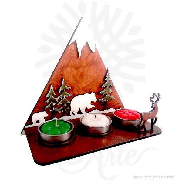 Soporte Velas Montaña Navidad en MDF de 3 mm, cortado con láser y pintado a mano.Este es un maravilloso regalo, suvenir; empresarial o para amigos y familiares. Elportavelasoporta velaes un objeto que sirve de soporte a unavela, hermano menor o sinónimo depalmatorias,candelabrosycandelerovvsohabitual en el comercio. LaNavidad(enlatín:nativitas,'nacimiento'), también llamada coloquialmente «pascua», es una de las festividades más importantes delcristianismo, junto con laPascua de resurrecciónyPentecostés. Esta solemnidad, que conmemora el nacimiento deJesucristoenBelén, se celebra el25 de diciembreen laIglesia católica, en laIglesia anglicana, en algunascomunidades protestantesy en la mayoría de lasIglesias ortodoxas. En cambio, se festeja el7 de eneroen otrasIglesias ortodoxascomo laIglesia ortodoxa rusao laIglesia ortodoxa de Jerusalén, que no aceptaron la reforma hecha alcalendario julianopara pasar al calendario conocido comogregoriano, nombre derivado de su reformador, elpapaGregorio XIII. El 25 de diciembre es un día festivo en muchos países celebrado por millones de personas alrededor del mundo y también por un gran número de no cristianos. Pesebre navidad Material: MDF de 3 mm de Alta Calidad Tamaño 20 x 20 x 12 cm Color: Descripción en foto Vendido y enviado por: Trazos de Arte. Envió rápido y seguro Personalización Realice un pedido personalizado, podemos agregar lo que desee, como nombre, fecha, frase, logotipo, imagen o empaque regalo. Ofrecemos: Grabado por láser, grabado CNC Router, sublimado o papel adhesivo, el precio varía según el tipo de personalización que desee, encontrara más información enServiciosen nuestro menú secundario. Si desea cotizar o tiene preguntas presione el botónCotizar personalizacióncon gusto las responderemos.