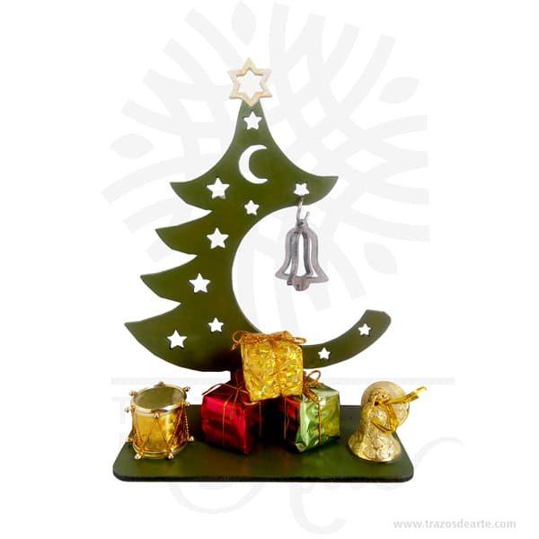 Arbol navidad regalos en MDF de 3 mm, cortado con láser.Este es un maravilloso regalo, suvenir; empresarial o para amigos y familiares. LaNavidad(enlatín:nativitas,'nacimiento'), también llamada coloquialmente «pascua», es una de las festividades más importantes delcristianismo, junto con laPascua de resurrecciónyPentecostés. Esta solemnidad, que conmemora el nacimiento deJesucristoenBelén, se celebra el25 de diciembreen laIglesia católica, en laIglesia anglicana, en algunascomunidades protestantesy en la mayoría de lasIglesias ortodoxas. En cambio, se festeja el7 de eneroen otrasIglesias ortodoxascomo laIglesia ortodoxa rusao laIglesia ortodoxa de Jerusalén, que no aceptaron la reforma hecha alcalendario julianopara pasar al calendario conocido comogregoriano, nombre derivado de su reformador, elpapaGregorio XIII. El 25 de diciembre es un día festivo en muchos países celebrado por millones de personas alrededor del mundo y también por un gran número de no cristianos. Arbol navidad regalos en MDF de 3 mm Material: MDF de 3 mm de Alta Calidad Tamaño 18 x 8 x 20 cm Color: Descripción en foto (Pintado a mano) Vendido y enviado por: Trazos de Arte. Envió rápido y seguro Personalización Realice un pedido personalizado, podemos agregar lo que desee, como nombre, fecha, frase, logotipo, imagen o empaque regalo. Ofrecemos: Grabado por láser, grabado CNC Router, sublimado o papel adhesivo, el precio varía según el tipo de personalización que desee, encontrara más información enServiciosen nuestro menú secundario. Si desea cotizar o tiene preguntas presione el botónCotizar personalizacióncon gusto las responderemos.