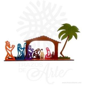 Pesebre navidad regalos espirituales y navidad  nacimiento en MDF de 3 mm pintado, cortado con láser.Este es un maravilloso regalo, suvenir; empresarial o para amigos y familiares. LaNavidad(enlatín:nativitas,'nacimiento'), también llamada coloquialmente «pascua», es una de las festividades más importantes delcristianismo, junto con laPascua de resurrecciónyPentecostés. Esta solemnidad, que conmemora el nacimiento deJesucristoenBelén, se celebra el25 de diciembreen laIglesia católica, en laIglesia anglicana, en algunascomunidades protestantesy en la mayoría de lasIglesias ortodoxas. En cambio, se festeja el7 de eneroen otrasIglesias ortodoxascomo laIglesia ortodoxa rusao laIglesia ortodoxa de Jerusalén, que no aceptaron la reforma hecha alcalendario julianopara pasar al calendario conocido comogregoriano, nombre derivado de su reformador, elpapaGregorio XIII. El 25 de diciembre es un día festivo en muchos países celebrado por millones de personas alrededor del mundo y también por un gran número de no cristianos. Pesebre navidad nacimiento Material: MDF de 3 mm de Alta Calidad Tamaño 5 x 23 x 13 cm Color: Descripción en foto Vendido y enviado por: Trazos de Arte. Envió rápido y seguro Fecha estimada de entrega: De 4 a 6 días (en Bogotá, Medellín, Cali), al resto del país de 9 a 15 días. Personalización Realice un pedido personalizado, podemos agregar lo que desee, como nombre, fecha, frase, logotipo, imagen o empaque regalo. Ofrecemos: Grabado por láser, grabado CNC Router, sublimado o papel adhesivo, el precio varía según el tipo de personalización que desee, encontrara más información enServiciosen nuestro menú secundario. Si desea cotizar o tiene preguntas presione el botónCotizar personalizacióncon gusto las responderemos.