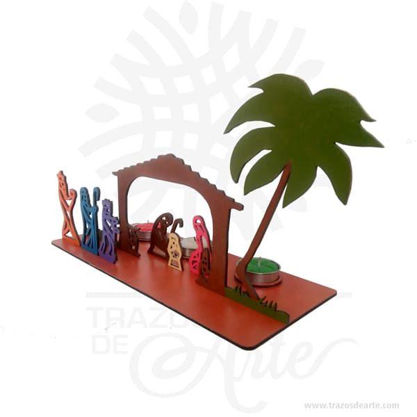 Pesebre navidad nacimiento en MDF de 3 mm pintado, cortado con láser.Este es un maravilloso regalo, suvenir; empresarial o para amigos y familiares. LaNavidad(enlatín:nativitas,'nacimiento'), también llamada coloquialmente «pascua», es una de las festividades más importantes delcristianismo, junto con laPascua de resurrecciónyPentecostés. Esta solemnidad, que conmemora el nacimiento deJesucristoenBelén, se celebra el25 de diciembreen laIglesia católica, en laIglesia anglicana, en algunascomunidades protestantesy en la mayoría de lasIglesias ortodoxas. En cambio, se festeja el7 de eneroen otrasIglesias ortodoxascomo laIglesia ortodoxa rusao laIglesia ortodoxa de Jerusalén, que no aceptaron la reforma hecha alcalendario julianopara pasar al calendario conocido comogregoriano, nombre derivado de su reformador, elpapaGregorio XIII. El 25 de diciembre es un día festivo en muchos países celebrado por millones de personas alrededor del mundo y también por un gran número de no cristianos. Pesebre navidad nacimiento Material: MDF de 3 mm de Alta Calidad Tamaño 5 x 23 x 13 cm Color: Descripción en foto Vendido y enviado por: Trazos de Arte. Envió rápido y seguro Fecha estimada de entrega: De 4 a 6 días (en Bogotá, Medellín, Cali), al resto del país de 9 a 15 días. Personalización Realice un pedido personalizado, podemos agregar lo que desee, como nombre, fecha, frase, logotipo, imagen o empaque regalo. Ofrecemos: Grabado por láser, grabado CNC Router, sublimado o papel adhesivo, el precio varía según el tipo de personalización que desee, encontrara más información enServiciosen nuestro menú secundario. Si desea cotizar o tiene preguntas presione el botónCotizar personalizacióncon gusto las responderemos.