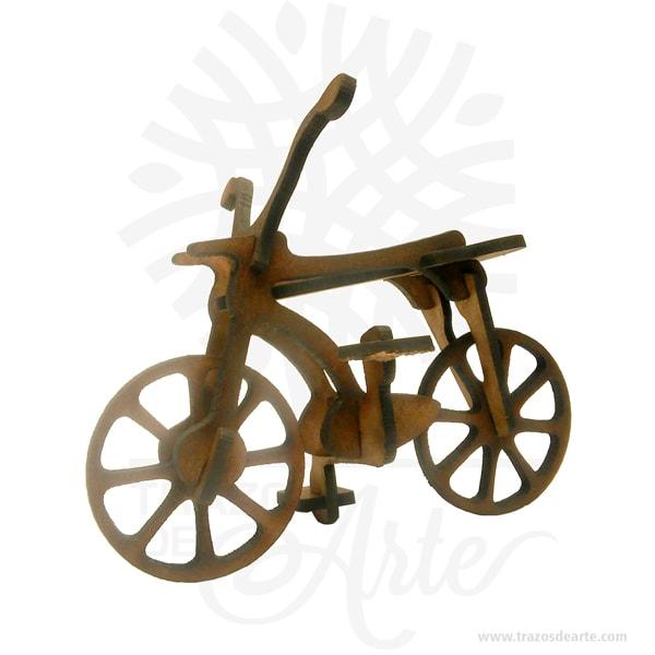 Bicicleta en madera mdf Pack X 3 unidades, sonrecordatorios y puzzles (rompecabezas 3d) muyespeciales, ideal para decorar y regalar alos amantes de este bello deporte. Este es un maravilloso regalo, suvenir; empresarial o para amigos y familiares. Hermosos recuerdo en madera MDF de excelente calidad, empacados en paquetes de 3 unidades. Hecho en corte láser, útil como juguete o decoración. Habilidades que son estimuladas por un Puzzle Desarrolla y potencializa la motricidad fina: Jugar con un puzzle puede potenciar las habilidades de motricidad fina del niño, ya que éste tiene que agacharse a recoger e intentar colocar las piezas en el lugar exacto. Habilidades cognitivas: Los puzzles que tienen formas y colores, por ejemplo, letras, números o animales, estimulan las habilidades cognitivas; los niños comienzan a tener conciencia de las formas, de esta manera su cerebro desarrollará más rápido los conceptos que se encuentran entre las formas y de sus puzzle. Lógica matemática: Aunque nos parezcan demasiados pequeños para comprender estos conceptos tan complejos, lo cierto es que jugar con puzzle le ayudará a tu niño a planear y ser estratega, dos aspectos que se requieren para lograr que las piezas del puzzle encajen en el lugar indicado. Autoestima y manejo de la frustración: Es importante trabajar con estos dos aspectos de la vida de nuestros hijos, ya que los acompañaran durante toda su vida. Un niño que juega con un puzzle aprende a manejar la frustración de manera sana, es decir no explotará al no poder encajar las piezas, sino que buscará la manera de lograr sus objetivos. Por otro lado, al lograr armar su puzzle por sí mismo se reforzará su autoestima al saber que puede lograr lo que se propone. Habilidades sociales: No hay porque armar un puzzle solo, tu pequeño puede compartir esta actividad con sus primos o hermanos, de esta manera aprenderá sobre la importancia de la cooperación y el trabajo en equipo. En la actualidad se utilizan diariamente comomerchandi