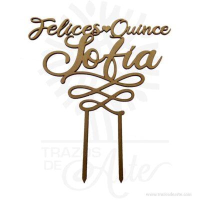 Cake Topper personalizados para tortas, fiestas y eventos en MDF pintado, perfecto para decorar tortas en bodas, cumpleaños, quince años, bautismos, comuniones, baby shower, aniversarios y eventos tanto familiares como de empresas.Es un adorno de pastel es un modelo pequeño que se sienta encima de un pastel, normalmente una representación de la ceremonia, una silueta, una palabra, una fecha o un numero.Ponle un toque especial y mucho más bonito con nuestros adornosAdornos para torta, hermosos diseños personalizadosy color a elección oro, plata, azul, rosa, rojo, negro, rosa Dios pastel Topper.Fabricados en MDF 3 mm, cubiertos con vinilo en ambas carasCake Topper personalizados para tortas, fiestas y eventosMaterial: MDF de 3mm de espesorColor: A elegir.Tamaño 25 x 25 x 0,3 cmFecha estimada de entrega: De 5 a 7 días hábiles (en Bogotá, Medellín, Cali), al resto del país de 7 a 14 días.Recuerda que el tiempo de entrega comienza a partir del momento en que tu pago sea confirmado.Todos los productos son entregados al domicilio que informaste al realizar la compra.Vendido y enviado por: Trazos de Arte.Envió rápido y seguro.PersonalizaciónRealice un pedido personalizado, podemos agregar lo que desee, como nombre, fecha, frase, logotipo, imagen o empaque regalo.Ofrecemos: Grabado por láser, grabado CNC Router, sublimado o papel adhesivo, el precio varía según el tipo de personalización que desee, encontrara más información enServiciosen nuestro menú secundario.Si desea cotizar o tiene preguntas presione el botónCotizar personalizacióncon gusto las responderemos.¿Como comprar?Selecciona tu producto. Si tienes alguna duda por favor escríbenos.Haz clic en el botón de compra y la cantidad que deseas.Ingresa los datos de facturación y entrega.Realiza el pago de tu pedido.Recibe el pedido en tu domicilio.En nuestra plataforma encontrarás el método de pago que más se ajusta a tu necesidad.