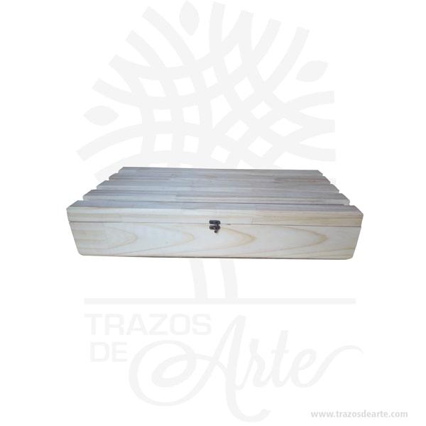 """Caja en madera de pino para regalo de 60 x 30 x 12 cm en crudo, bella canasta guacal rustico ideal para decorar y regalar con múltiples usos entre ellos como ancheta o desayuno sorpresa. Práctica caja para decorar y regalar, perfecta para los amantes de las manualidades, decoradores de fiestas y bodas. Esta caja de madera de pino es realmente original. No ocupa mucho espacio y será una decoración de su hogar ademas de un excelente organizador. La caja de madera perfeccionará el regalo para la boda, el aniversario, el día de San Valentin u otros eventos. Practica como centro de mesa, mesa de dulces entre otros. La puede encontrar también como caja en MDF, caja decorativa , caja decorativa en madera MDF, cajas de madera para regalo o caja en madera con tapa. La caja de madera ha conseguido introducirse en determinados nichos de mercado muy localizados en cuanto a tamaño y producto en los que ha obtenido una gran fidelidad por parte de los compradores. Tenga en cuenta que la madera es un material único, por lo que cuándo lo reciba será similar, no exactamente al de la foto. Caja en madera de pino para regalo de 60 x 30 x 12 cm en crudo Material: Madera de Pino Color: Descripción en foto Tamaño: 60 x 30 x 12 cm Fecha estimada de entrega: De 3 a 5 días hábiles (en Bogotá, Medellín, Cali), al resto del país de 7 a 14 días. Recuerda que el tiempo de entrega comienza a partir del momento en que tu pago sea confirmado. Todos los productos son entregados al domicilio que informaste al realizar la compra. Vendido y enviado por: Trazos de Arte. Envió rápido y seguro. Personalización Realiza un pedido personalizado, podemos agregar lo que desees, como nombre, fecha, frase, logotipo, imagen o empaque regalo. Ofrecemos: Grabado por láser, grabado CNC Router, sublimado o papel adhesivo, el precio varía según el tipo de personalización que desees, encontrarás más información en """"Servicios""""en nuestro menú secundario. Si deseas cotizar o tienes preguntas presiona el botónCotizar perso"""
